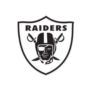 "Oakland Raiders NFL car bumper sticker decal (5"" x 5"")  Sports Fan Bumper Stickers  Sports & Outdoors"