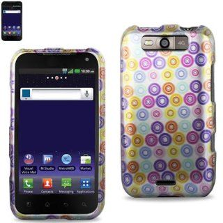 Reiko 2DPC LGMS840 0190 Durable Snap On Protective Case for LG MS840 Premium   1 Pack   Retail Packaging   Multi Cell Phones & Accessories