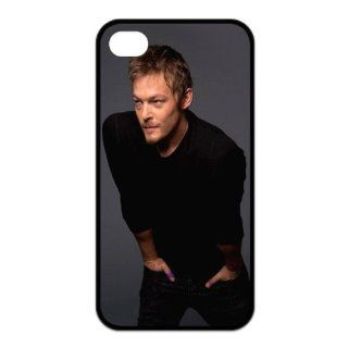 DesignerDIY Custom Fashion Cover Hot Stars Series Norman Mark Reedus TPU Case For iphone 4/4s Iphone4Apr6021 Cell Phones & Accessories