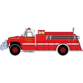 Athearn HO Scale San Francisco Engine Co. Ford F 850 Pumper Fire Truck (92036) Toys & Games