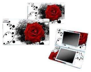 Bundle Monster Nintendo Ndsi Dsi Nds Ds i Vinyl Game Skin Case Art Decal Cover Sticker Protector Accessories   Red Rose Electronics