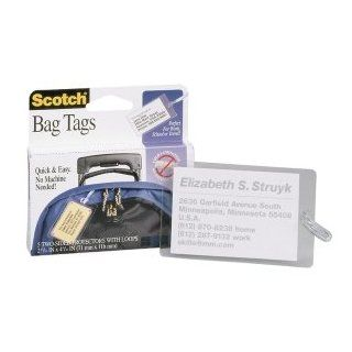 3M Scotch Self Laminating Luggage Tag Protectors (LS853 5G)    Laminating Supplies