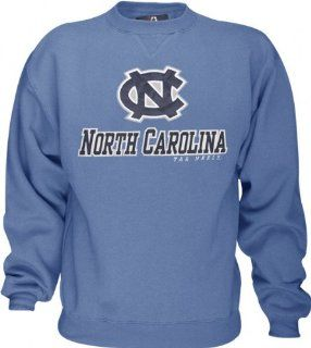 North Carolina Tar Heels Light Blue Guardian Crewneck Sweatshirt  Athletic Sweatshirts  Sports & Outdoors