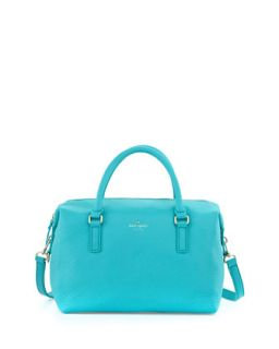 henry lane emmy satchel bag, tropic blue   kate spade new york