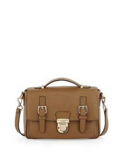 lola avenue lia crossbody satchel, brown sugar   kate spade new york