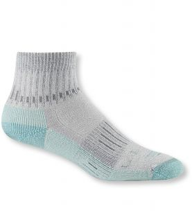 Womens Cresta Hiking Socks, Wool Blend Midweight Quarter Crew