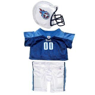 Build a Bear Workshop, Tennessee Titans Uniform 3 pc. Teddy Bear Outfit Toys & Games
