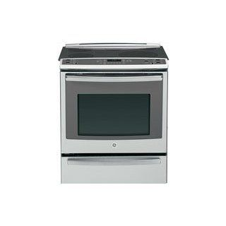 "GE PS920SFSS Profile 30"" Stainless Steel Electric Slide In Smoothtop Range   Convection Appliances"