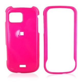 For Samsung Mythic A897 Hard Case Cover Skin Hot Pink Cell Phones & Accessories