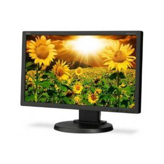 "NEC MultiSync E201W BK   LCD display   TFT   LED backlight   20""   widescreen   1600 x 900   250 cd/m2   10001   250001 (dynamic)   5 ms   0.277 mm   DVI D, VGA, DisplayPort   black MULTISYNC 20IN LCD W/CMS MON 1600X900 5MS VGA DVI Manufacturer Part"