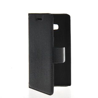 MOONCASE Litchi Skin Flip Wallet Card Pouch Stand Leather Case Cover For Nokia Lumia Icon 929 Black Cell Phones & Accessories
