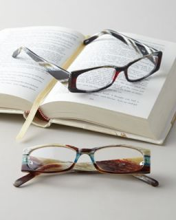 Faux Bone Reading Glasses