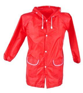 Cute and Funny Red Strawberry Rain Coat for Children  Infant And Toddler Raincoats  Baby