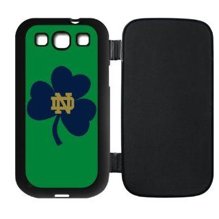 Notre Dame Fighting Irish Flip Case for Samsung Galaxy S3 I9300, I9308 and I939 sports3samsung F0080 Cell Phones & Accessories