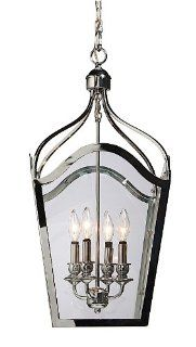Artcraft Lighting AC948AB Cambridge 6 Lite Urn Light, Antique Bronze   Foyer Pendant Light Fixtures
