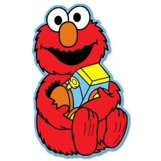 "Elmo Toy Sesame Street vynil car sticker 3"" x 5"" Automotive"