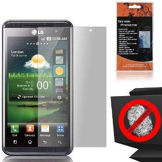 Anti Glare Screen Protector for LG Optimus 3D P920 Cell Phones & Accessories