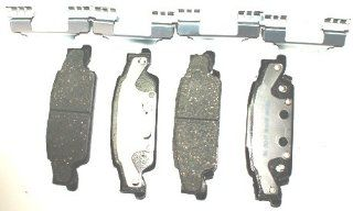 ACDelco 14D922CH Advantage Rear Ceramic Disc Brake Pad Set Automotive