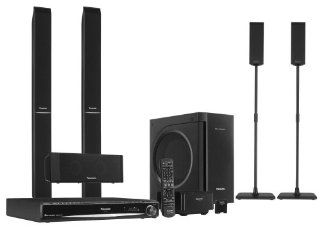 Panasonic SC PT960 Deluxe 5 DVD Home Theater System Electronics