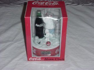 Coca Cola Brand, Digital Alarm Clock, Featuring The Polar Bears   Childrens Clocks