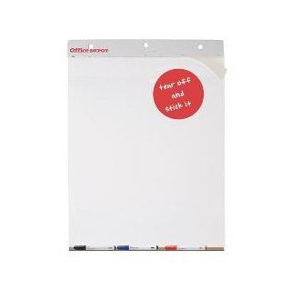 Office Depot(R) Brand 30% Recycled Self Stick Easel Pads, 25In. X 30In., Unruled, 40 Sheets, White, Pack Of 2  Mouse Pads