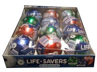 Lifesavers Ornomints Holiday Christmas Gift Box  Gourmet Candy Gifts  Grocery & Gourmet Food