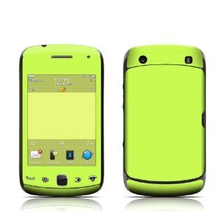 Solid State Lime Design Protective Skin Decal Sticker for BlackBerry Curve 9380 Cell Phone Cell Phones & Accessories