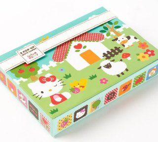 Hello Kitty Farm Pop Up Note Cards  Blank Note Cards