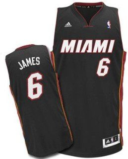 Lebron James #6 Miami Heat Youth Kids Black Swingman Jersey Size Large NBA Authentic & NEW  Sports Fan Beanies  Sports & Outdoors