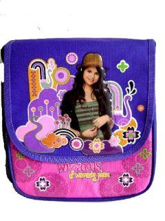 Wizards of Waverly Place Insulated Lunch Bag Lunchbox by Selena Gomez   Beautiful Lunch Tote Bag / Messenger Bag  Toys & Games