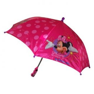 Disney Minnie Mouse Girl's Pink Umbrella Clothing