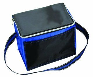 8 Can Insulated Cooler Lunch Bag, Royal with Black by BAGS FOR LESSTM Sports & Outdoors