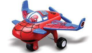 Marvel Super Hero Squad Spider Man Sky Squadies Die Cast Airplane Toys & Games