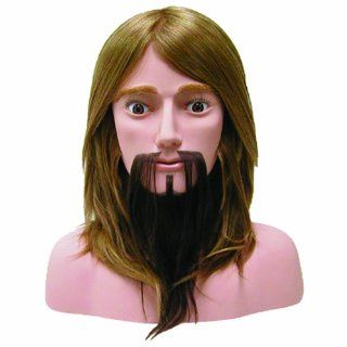 "Hairart 10"" Hair with Beard Competition Mannequin Head (OMC 977) Health & Personal Care"