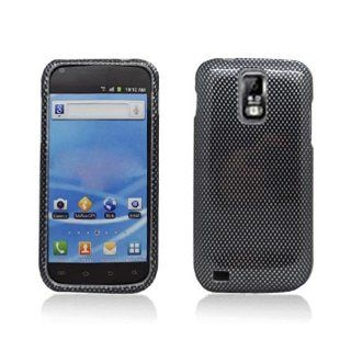 Black Carbon Fiber Print Hard Cover Case for Samsung Galaxy S2 S II T Mobile T989 SGH T989 Hercules Cell Phones & Accessories