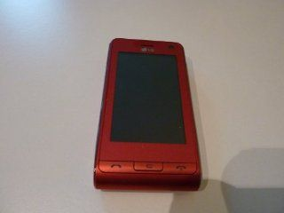 LG KU990 Viewty Touch Screen Unlocked Tri band Phone (Red) Cell Phones & Accessories