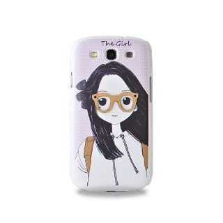 3D Stylish Series Samsung Galaxy S3 Cases i9300   Girl Cell Phones & Accessories