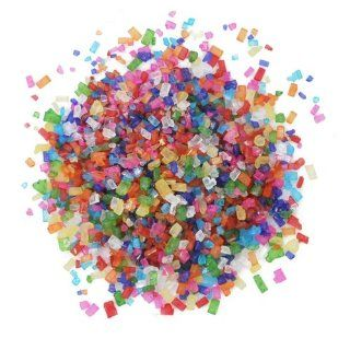 Dress My Cupcake DMC27110 Decorating Colored Sugar Crystals Bulk for Cakes, 30 Pound, Rainbow Kitchen & Dining