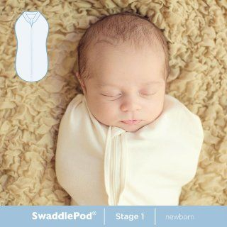 Summer Infant SwaddlePod 2 Pack, Baby Bows, Newborn  Nursery Swaddling Blankets  Baby