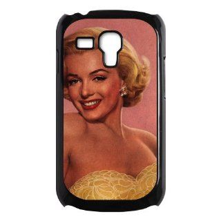 Marilyn Monroe Samsung Galaxy S3 Mini Black and White Case Cell Phones & Accessories
