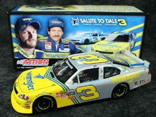Dale Earnhardt Jr Diecast Wrangler #3 1/24 2010 Nationwide Flashcoat Silver Toys & Games