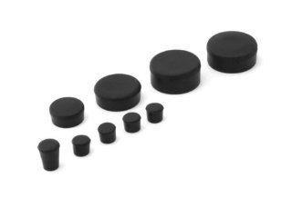 2005 2006 Suzuki GSXR 1000 Rubber Frame Plugs Set Automotive