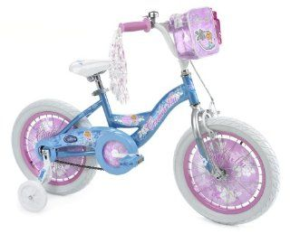 Huffy Disney Cinderella Girls' Bike (16 Inch Wheels)  Childrens Bmx Bicycles  Sports & Outdoors