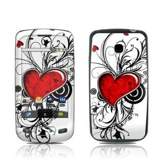 My Heart Design Protective Skin Decal Sticker for LG Optimus T P509 Cell Phone Cell Phones & Accessories