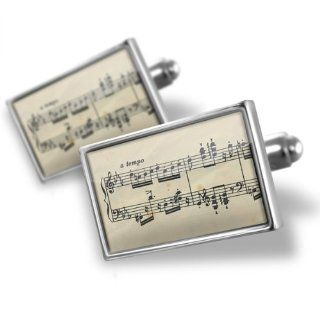 "Neonblond Cufflinks ""Music notes""   cuff links for man Jewelry"
