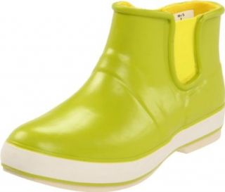 Sperry Top Sider Women's Rain Drop Boot,Lime,10 M US Shoes