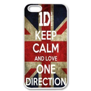 For Apple iPhone 5 One Direction SLIM WHITE Sides Case Cover Skin Mobile Phone Accessory Cell Phones & Accessories
