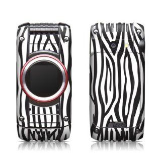 Zebra Stripes Design Protective Skin Decal Sticker for Casio G'zOne Ravine 2 C781 Cell Phone Cell Phones & Accessories