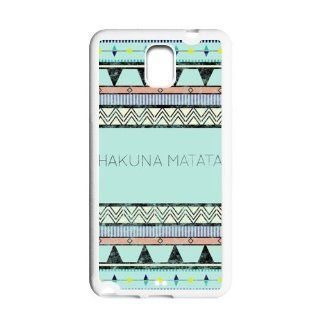 Keep Calm and Hakuna Matata HD Samsung Galaxy Note 3 N9000 TPU hard case covers Cell Phones & Accessories