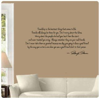 Friends will always be there for you by Marilyn Monroe Wall Decal Sticker Art Mural Home D�cor Quote   Wall Decor Stickers